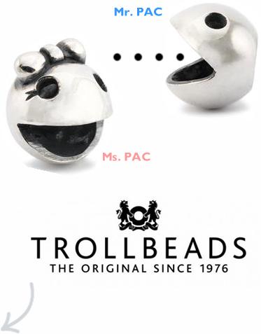 Mr. e Ms. PAC - Collezione Autunno 2013 - Trollbeads