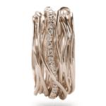 Anello Filodellavita 13 Fili Classic Oro Rosa Diamanti - AN13RBT|Anello Filodellavita 13 Fili Classic Oro Rosa Diamanti - AN13RBT