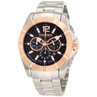 Orologio Uomo Haurex Cronografo in Acciaio - Aston - 0D366UHN