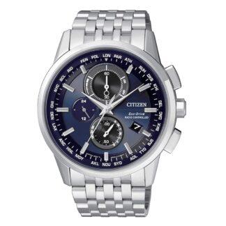 Orologio Cronografo Citizen Eco Drive da Uomo in Acciaio - H804 - AT8110-61L