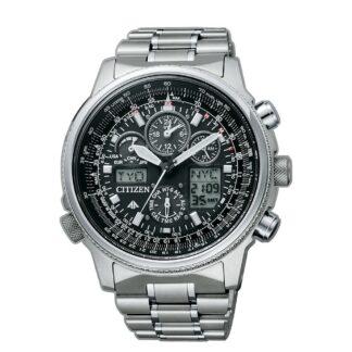 Orologio Cronografo Citizen da Uomo in Super Titanio - Super Pilot - JY8020-52E