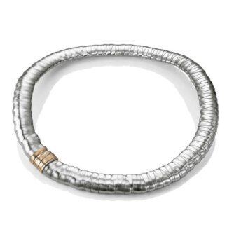 Collana Donna Breil in Acciaio Collezione Snake BJ0465