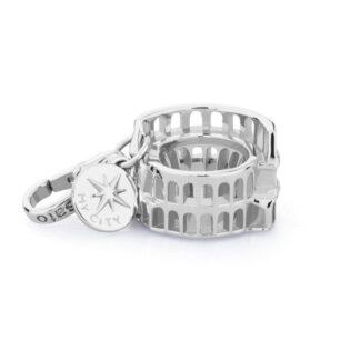 Charm Colosseo Rosato in Argento Collezione My City – CI015