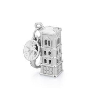 Charm Torre di Giotto Rosato Ciondolo Argento My City - CI027