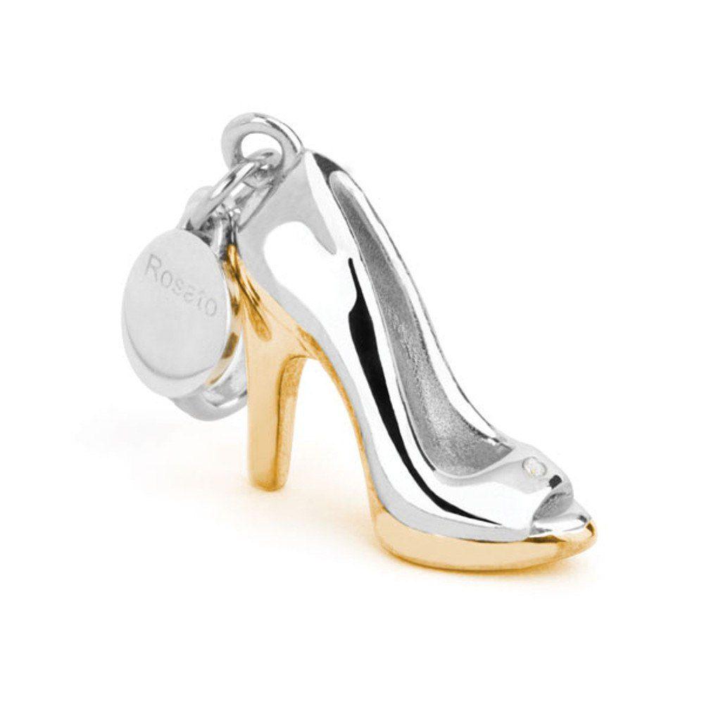 Shoes – E Argento Sh006 Zirconi Scarpa My Placcato Charm Sandalo In Rosato TOkXZPui