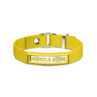Bracciale #SMILE AT ME Nomination Cotone Poliuretano e Acciaio - #ME - 131000/003