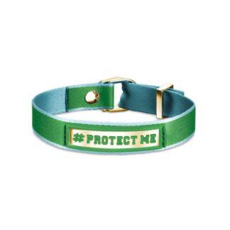 Bracciale #PROTECT ME Nomination Cotone Poliuretano e Acciaio - #ME - 131001/009
