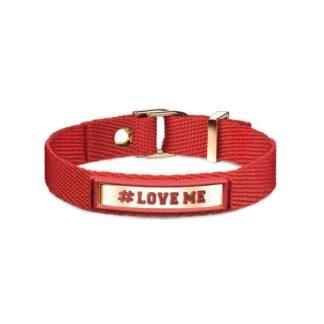 Bracciale #LOVE ME Nomination Cotone Poliuretano e Acciaio - #ME - 131001/010