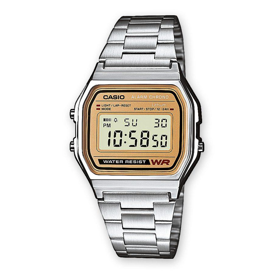 9391ac03b113 Orologio Cronografo Digitale Casio Unisex in Acciaio – A158WEA