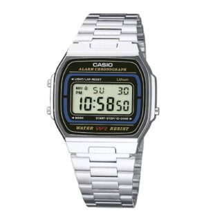 Orologio Casio Acciaio Digitale - A164WA-1VES
