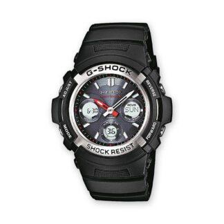 Orologio Cronografo Casio Acciaio e Plastica G-Shock AWG-M100-1AER