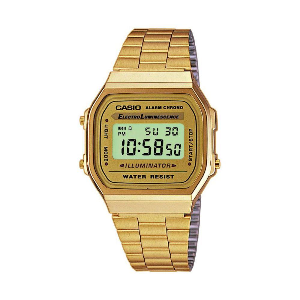 Orologio Casio Acciaio Dorato Digitale – A168WG 9EF