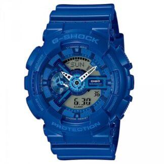 Orologio Casio Resina Blu Cronografo Multifunzione – G-Shock – GA-110BC-2AER
