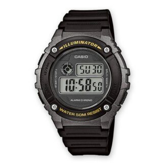Orologio Cronografo Digitale Casio Uomo in Resina - W-216H