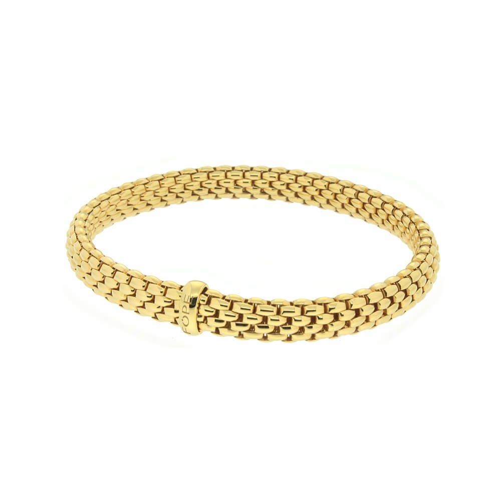 più foto 3a762 472b9 Bracciale Fope da Donna in Oro Giallo - 561BM