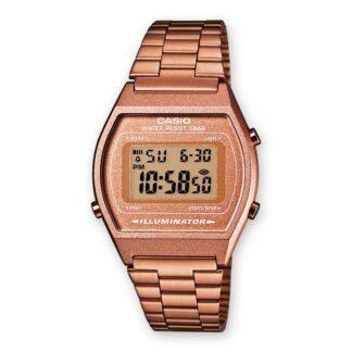 Orologio Cronografo Unisex Casio in Acciaio rosè – B640WC-5AEF
