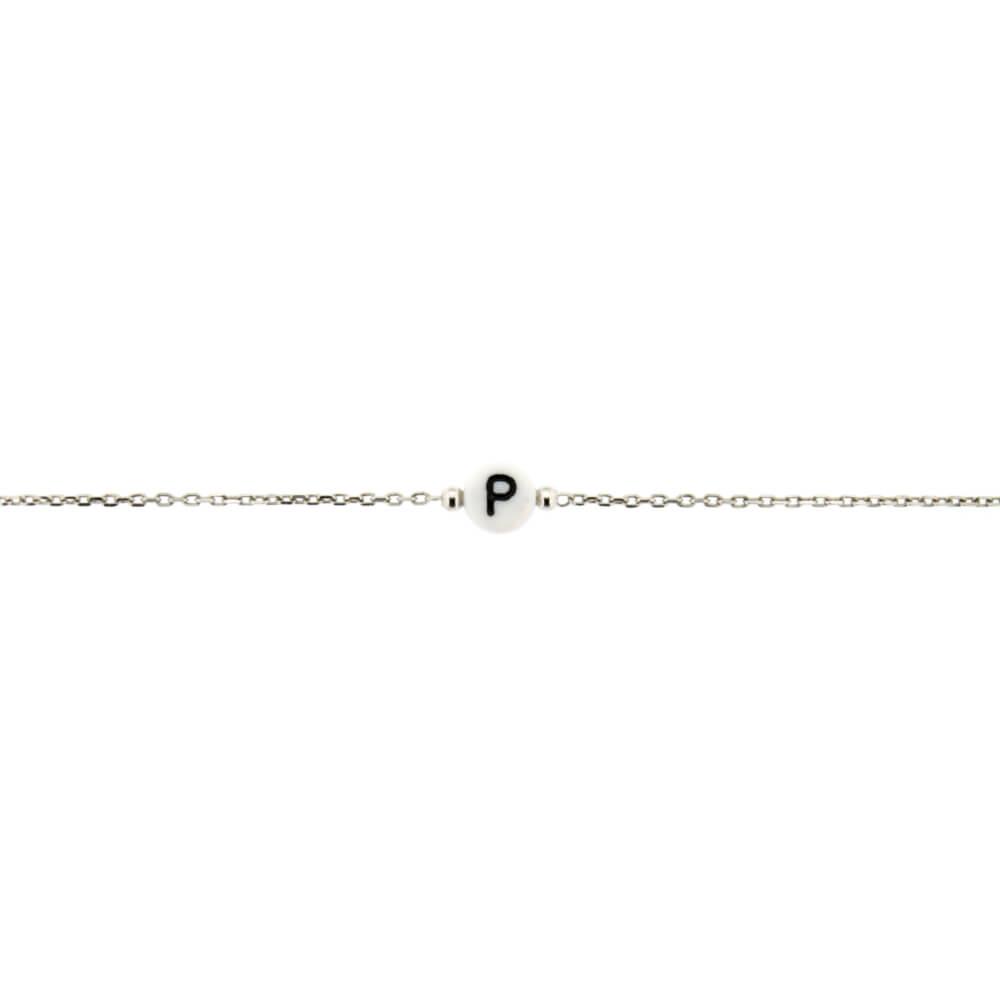 Bracciale zoppini unisex in argento lettera p h1833000p bracciale zoppini unisex in argento lettera p h1833000p altavistaventures Choice Image