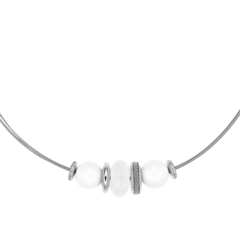 bef8b34806 Collana Skagen da Donna in Acciaio e Vetro – Sea Glass – SKJ0320040