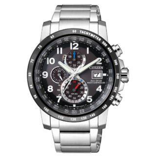 Orologio Citizen Cronografo Radiocontrollato in Acciaio - AT8124