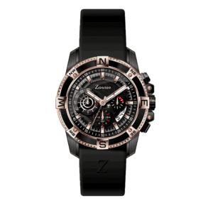Orologio Zancan Cronografo in Acciaio e Gomma - HWC010
