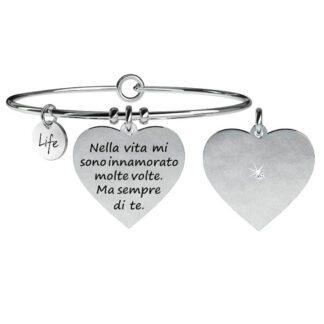 Bracciale Kidult Love Acciaio Cuore | Innamorato - 731059