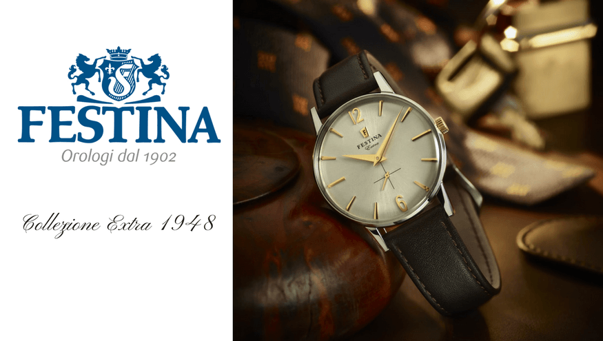 Orologi Festina Extra Collection - Originale riedizione del 1948