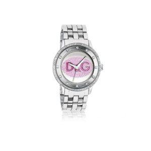 Orologio Donna D&G Acciaio Rosa Strass - DW0848