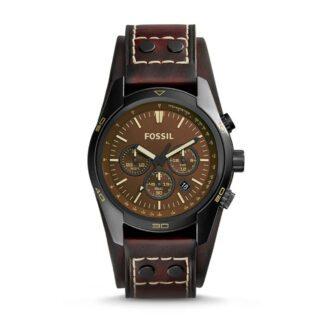 Orologio Fossil Uomo Cronografo Acciaio Pelle - CH2990