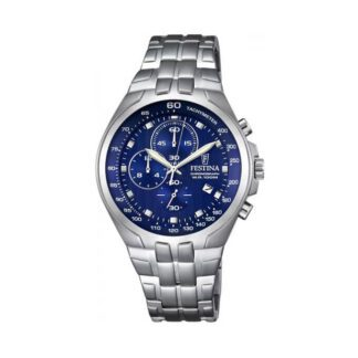 Orologio Festina Uomo Sport Cronografo Acciaio Blu - F6843/3