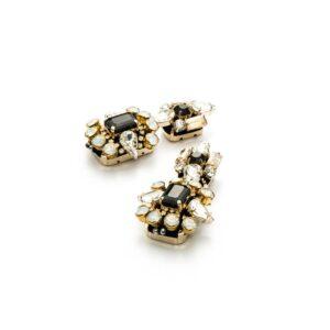 Orecchini Donna Cesare Paciotti Jewels Gems Metallo Cristallo - Alcione - JPOR4008G