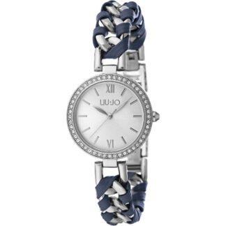 Orologio Donna Liu Jo – Naira – in Acciaio Pelle Blu e Zirconi – TLJ1111 34b00bda20e