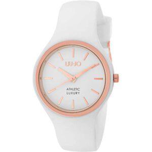 Orologio Donna Liu Jo Sprint Acciaio Rosè Silicone Bianco TLJ1141