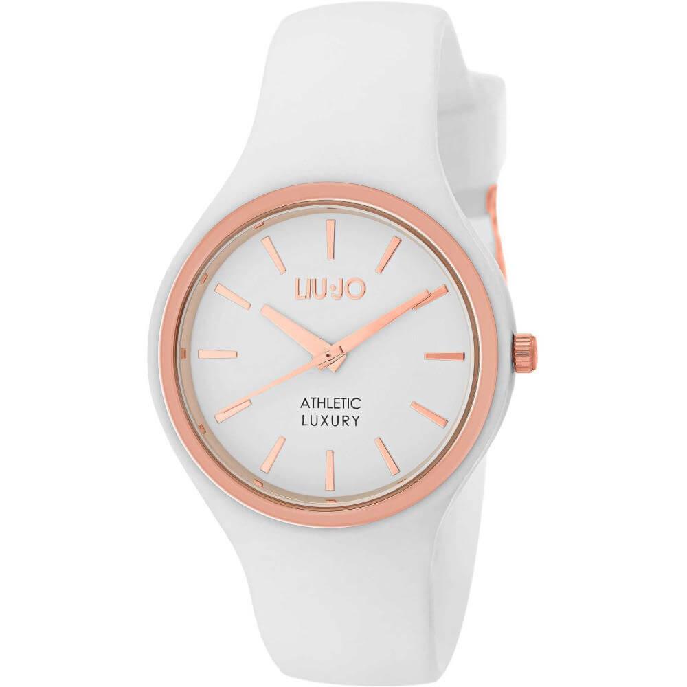 Orologio Donna Liu Jo – Sprint – in Acciaio Rosè e Silicone Bianco – TLJ1141 ea965c57c27
