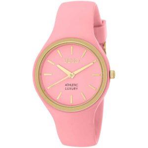 Orologio Donna Liu Jo Sprint Acciaio dorato Silicone Rosa TLJ1147