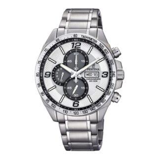 Orologio Cronografo Festina in Acciaio - Timeless Chronograph - F6861/1