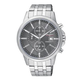 Orologio Cronografo Uomo Vagary Acciaio Grigio - IA9-110-61