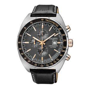 Orologio Cronografo Uomo Vagary Rockwell Nero Oro - IA9-314-50