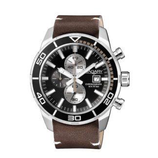 Orologio Cronografo Uomo Vagary Aqua39 Marrone - IA9-616-52