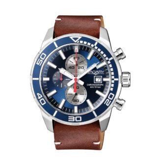 Orologio Cronografo Uomo Vagary Aqua39 Marrone - IA9-616-70