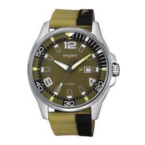 Orologio Solo Tempo Uomo Vagary Aqua39 Nero Verde - IB7-414-40