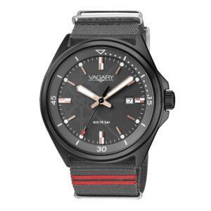Orologio Solo Tempo Uomo Vagary Aqua39 Grigio Rosso - IB7-945-60