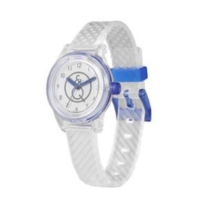 Orologio Solare Bambino Smile Solar - Mini - Bianco Blu - RP01J008Y