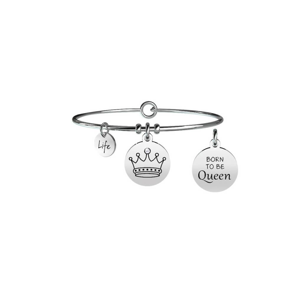 Kidult Bracciale Donna Collezione Symbols Cornetto Oro Rosa 731013