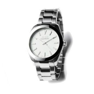 Orologio Uomo Solo Tempo 4US - Bianco -Acciaio - T4LS178