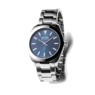 Orologio Uomo Solo Tempo 4US - Blu - Acciaio - T4LS182