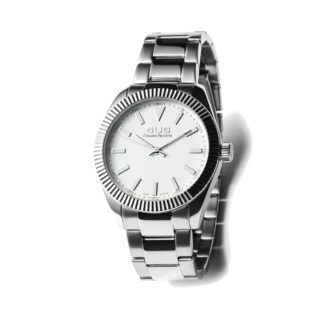 Orologio Uomo Solo Tempo 4US - Bianco - Acciaio - T4LS184