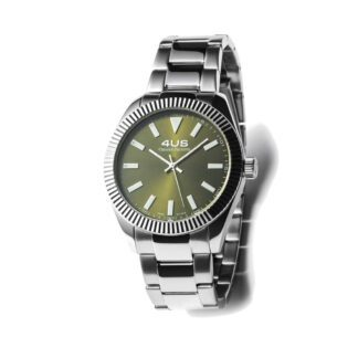 Orologio Uomo Solo Tempo 4US - Verde - Acciaio - T4LS188