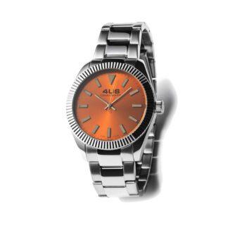 Orologio Uomo Solo Tempo 4US - Arancione - Acciaio - T4LS194