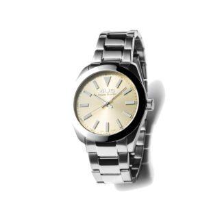 Orologio Donna Solo Tempo 4US - Beige - Acciaio - T4LS201
