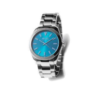 Orologio Donna Solo Tempo 4US - Azzurro - Acciaio - T4LS203